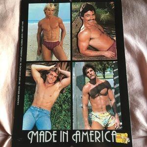 Made in America 1985 calendar